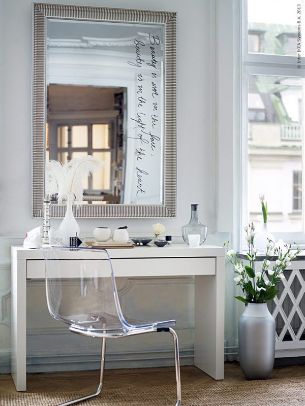 Great BUY IT · Ikea Tobias Clear Acrylic Makeup Vanity Chair: ...