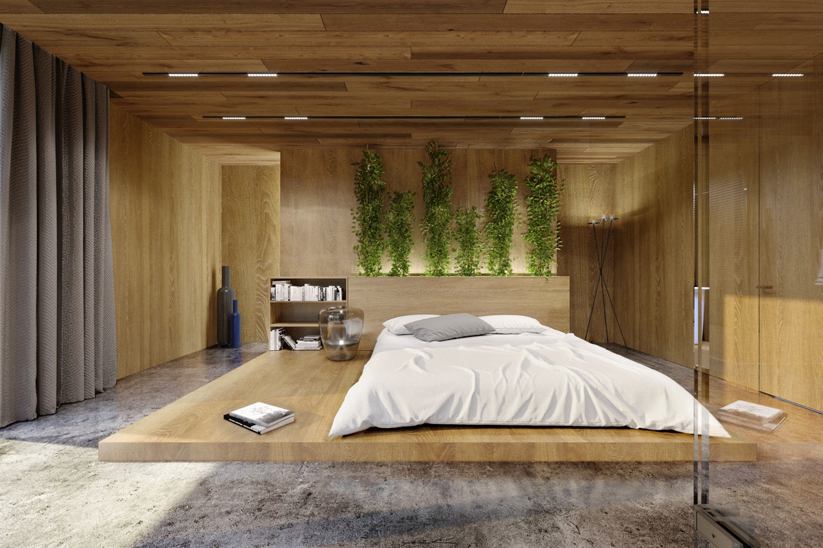 Wood Panel Accent Wall ~ Awesome accent wall ideas for your bedroom the home