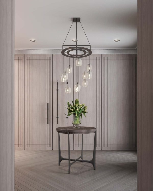 Light Wood Wall Paneling : A luxurious home interior with pretty muted pastel colors
