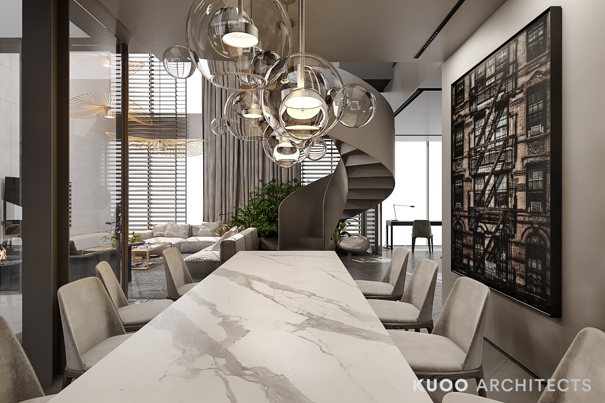 Kitchen & Dining  Marble-dining-room-table