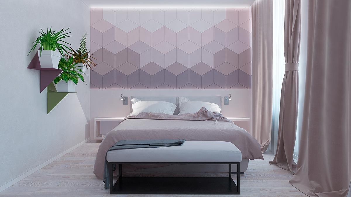 Delightful Cool Bedroom Wall Decor