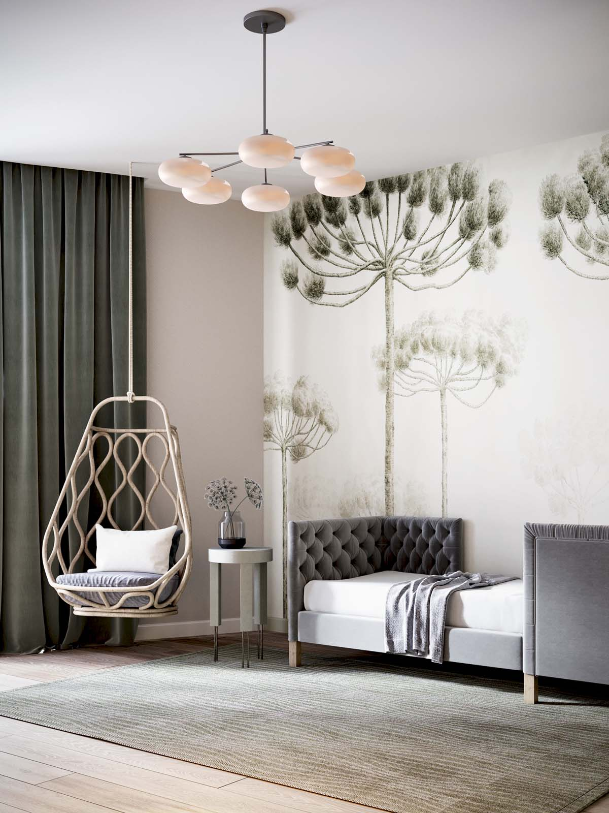 A Luxurious Home Interior with Pretty, Muted Pastel Colors images 26
