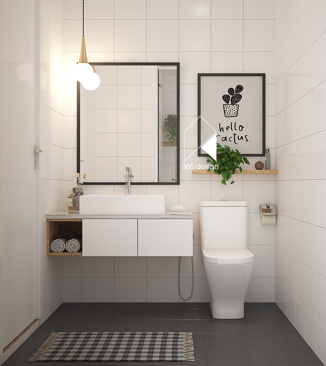 Simple Bathroom: 2 Simply Chic Homes With Lots Of Light