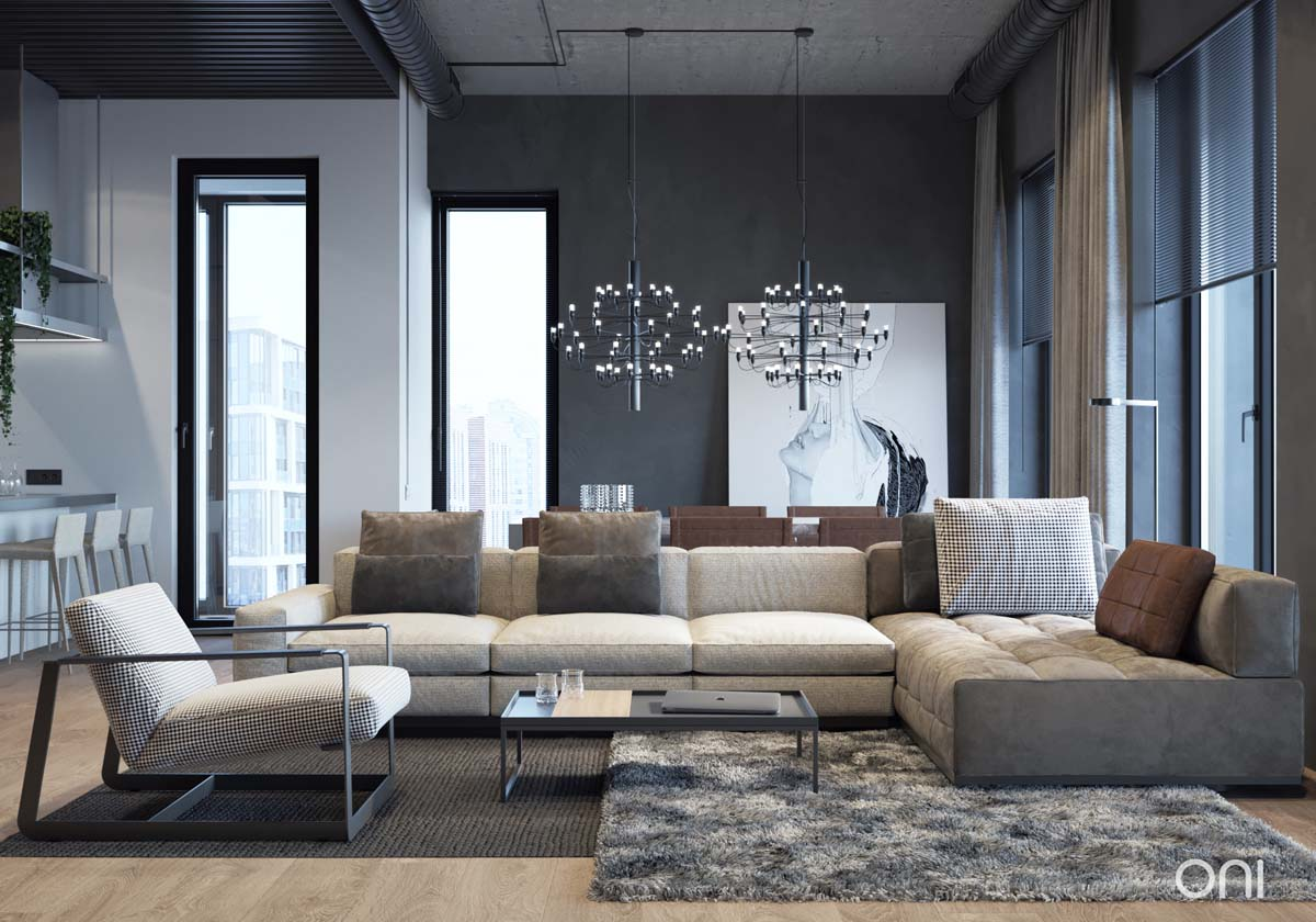 1 Integrating Comfort With Industrial Style