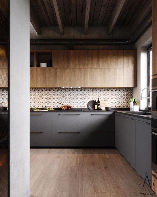 Warm Industrial Style House With Layout Interior Design Ideas Howldb