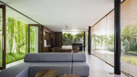 Open Nature's Window With This Greenery-Surrounded Vietnamese Home