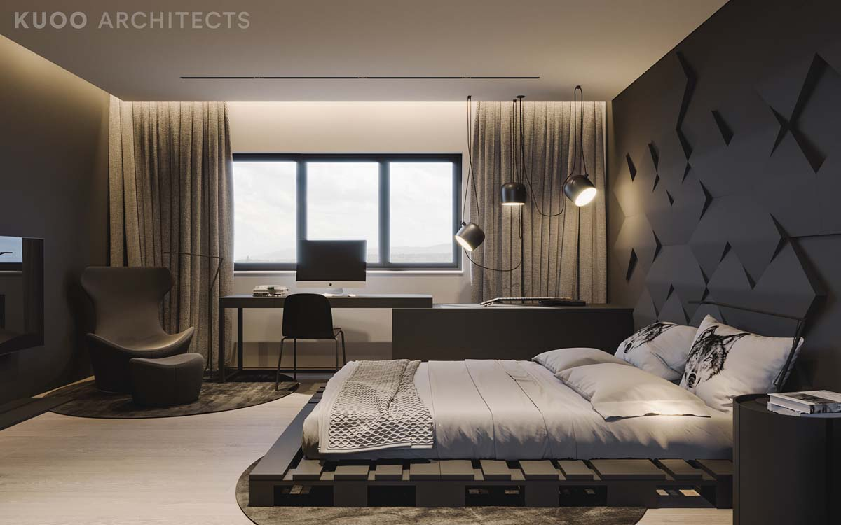 Ritzy UK Home with Glam Metallic Accents images 33