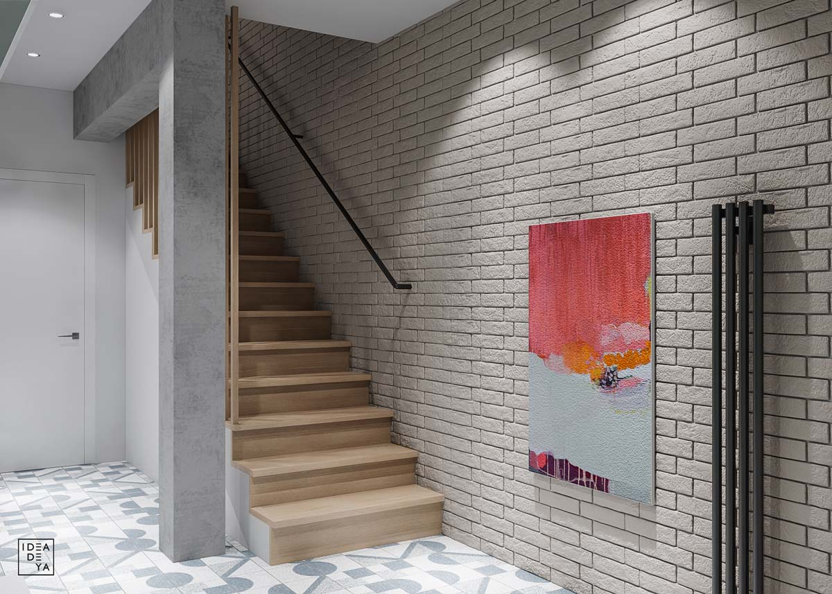 Unusual Home Layout with Creative Accent Colours images 19