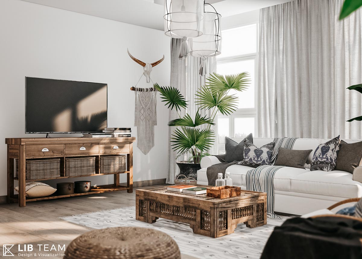 Modern Monochrome Tribal Decor images 27