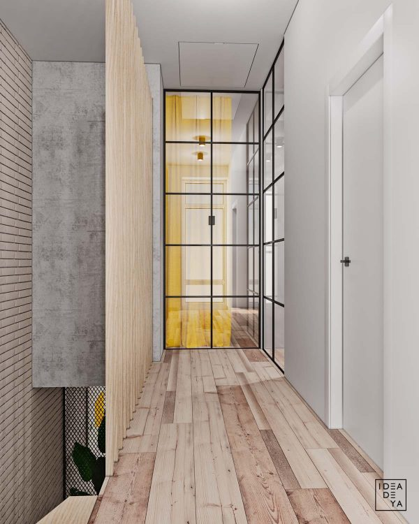 Internal Glass Allows The Flow Of Natural Light Throughout The Home. The  Light Wood Floor And Features Continue Throughout Each Level Of The House  For A ...