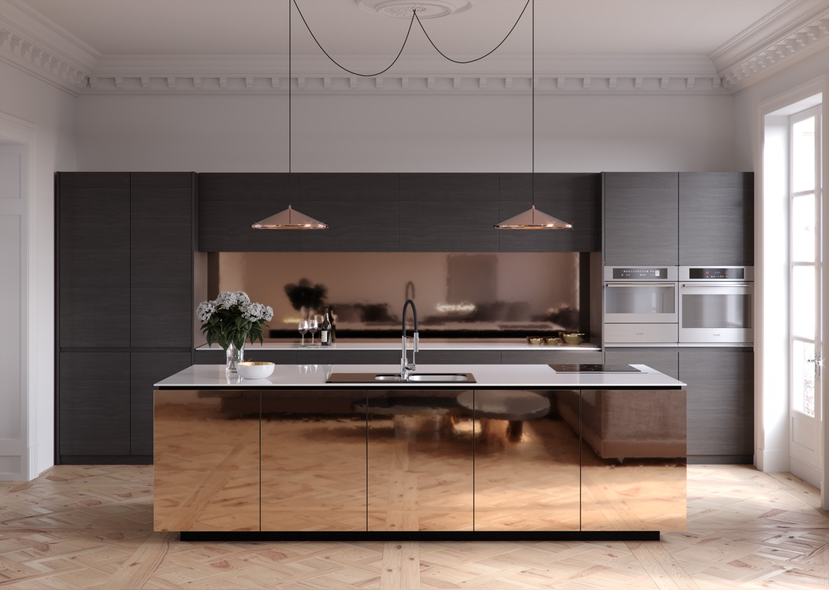 40 Minimalist Kitchens to Get Super Sleek Inspiration images 12