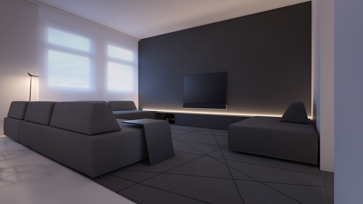 40 Gorgeously Minimalist Living Rooms That Find Substance in Simplicity images 2