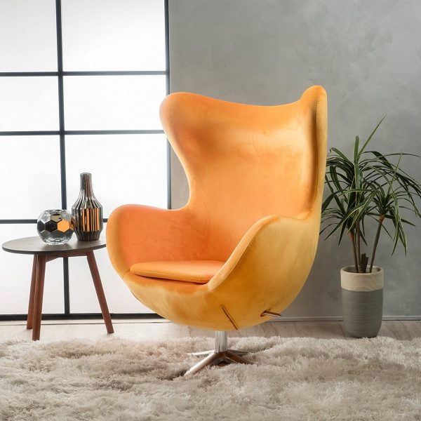 Egg Chair Accent Chairs.40 Beautiful Modern Accent Chairs That Add Splendour To Your Seating