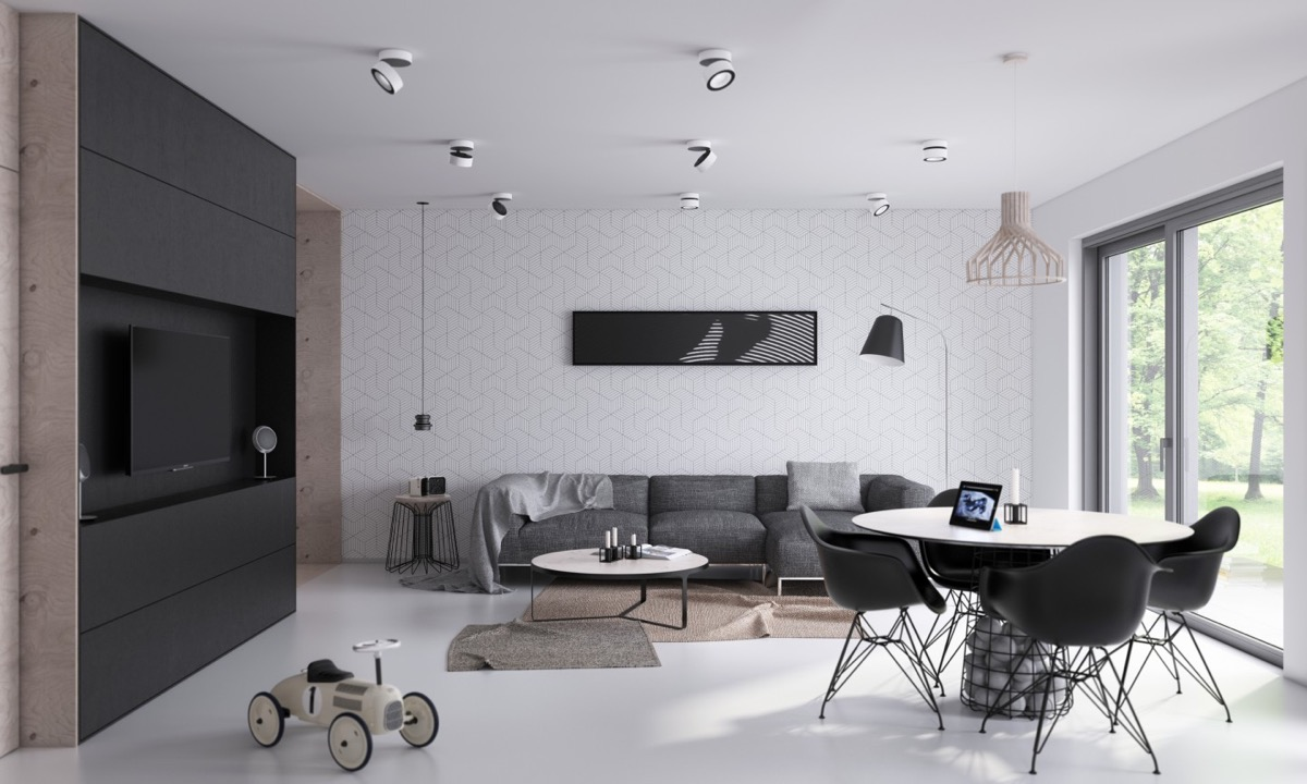 interior design furniture minimalism industrial design. 36 |; Visualizer: Architektura Design Interior Furniture Minimalism Industrial