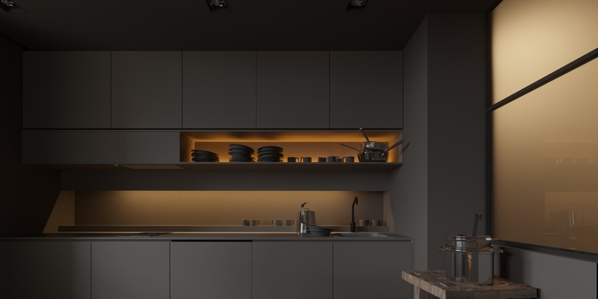 40 Minimalist Kitchens to Get Super Sleek Inspiration images 35