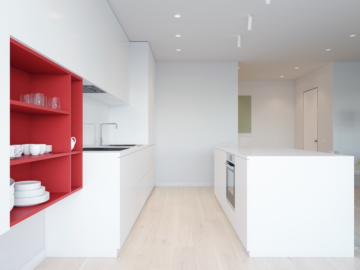 40 Minimalist Kitchens to Get Super Sleek Inspiration images 23