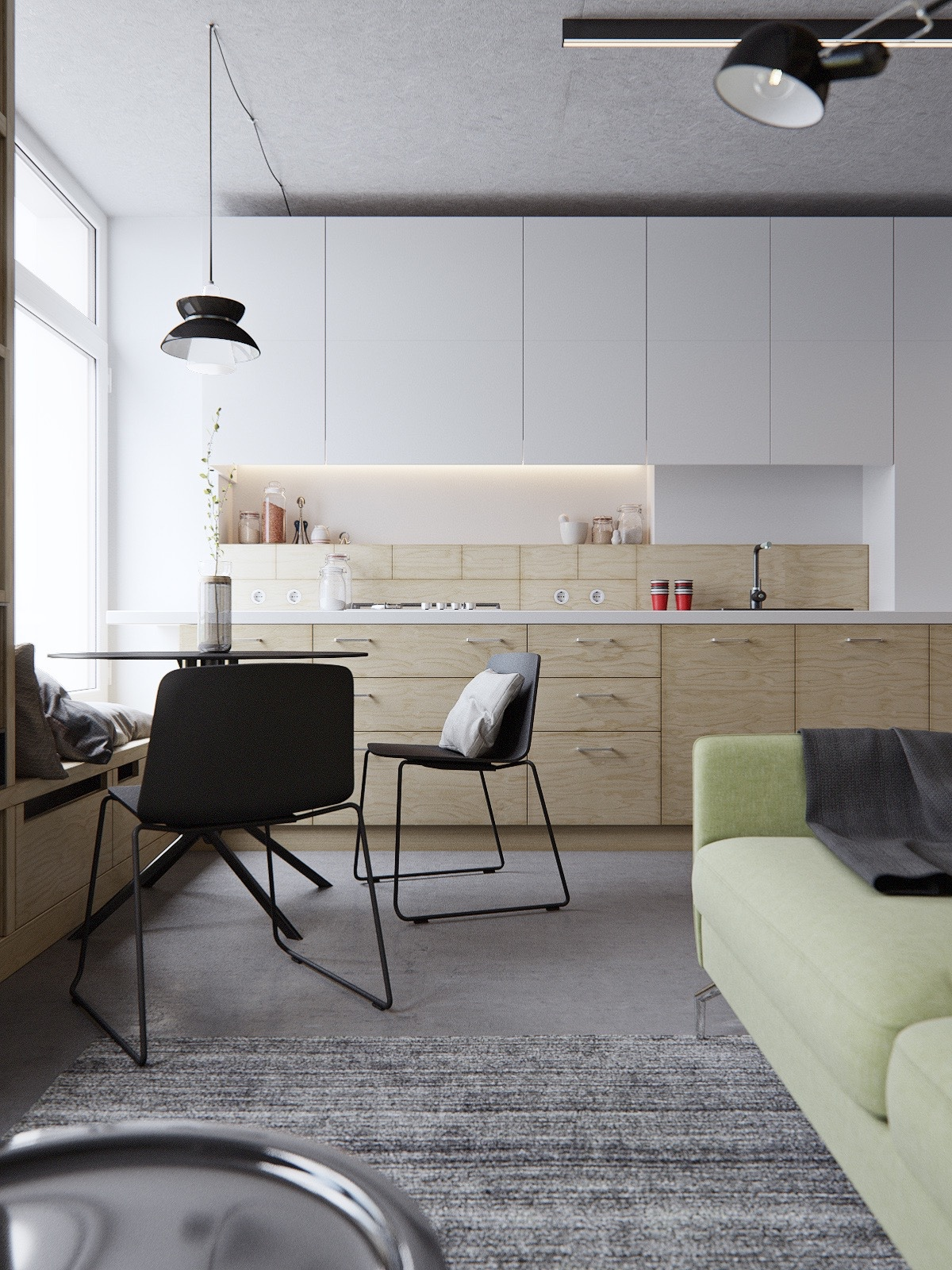 40 Minimalist Kitchens to Get Super Sleek Inspiration images 30