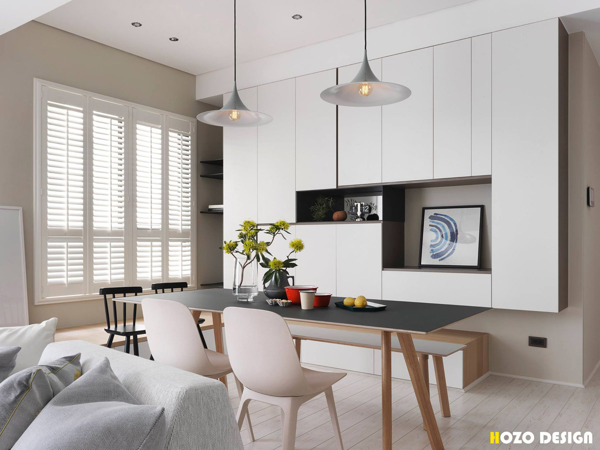 A Bright Home to Give a Family a Taste of the Good Life