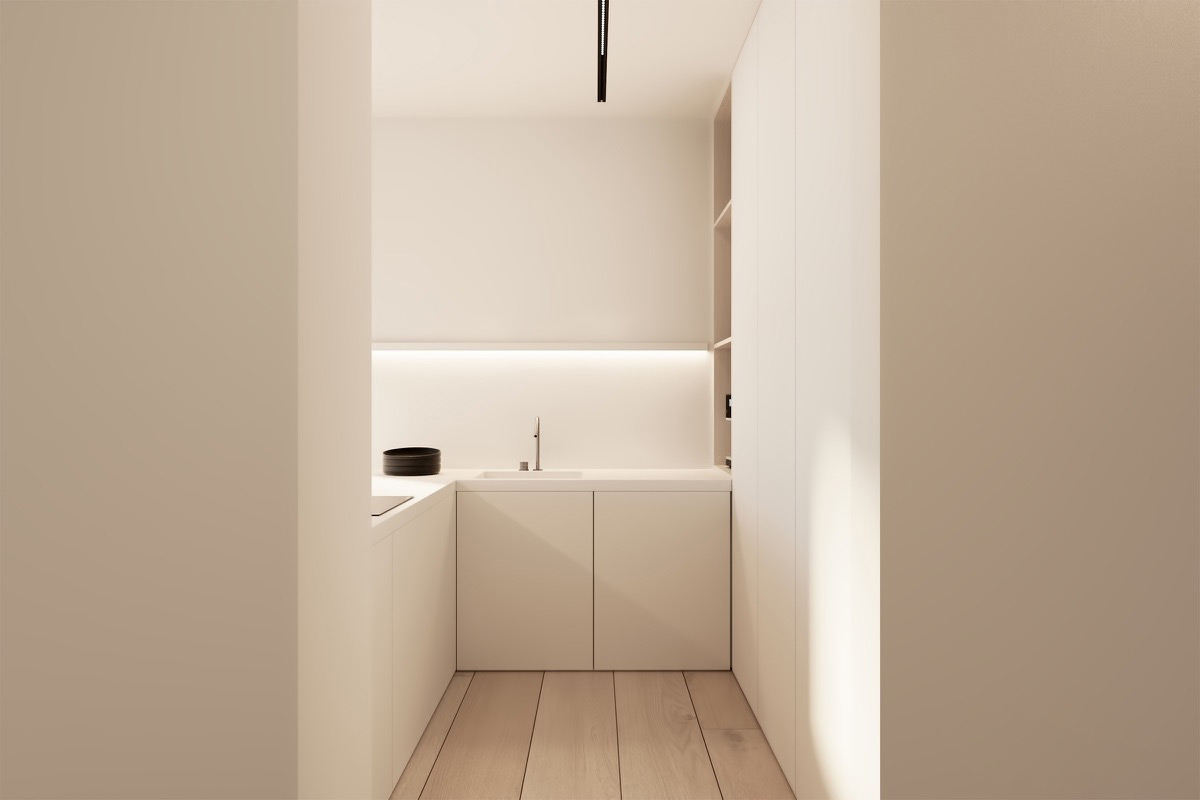 40 Minimalist Kitchens to Get Super Sleek Inspiration images 26