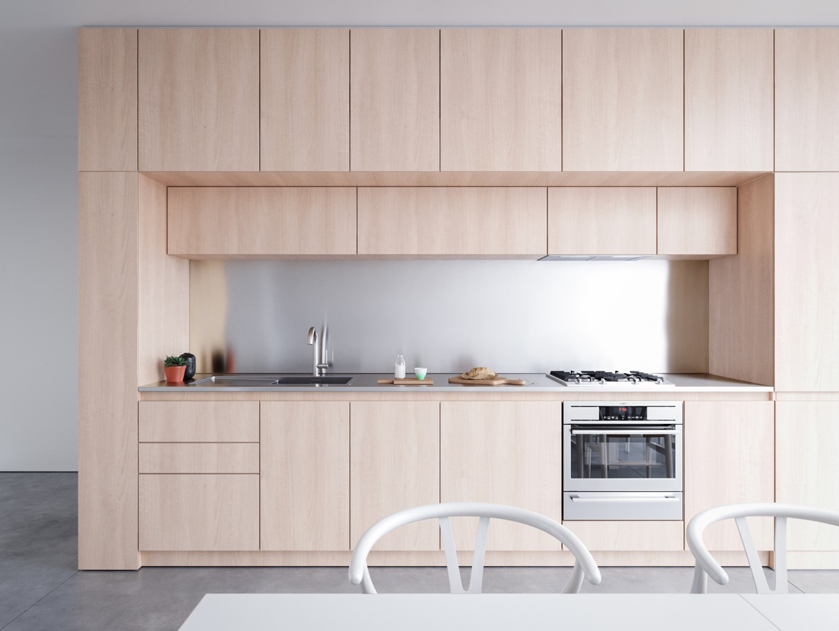 40 Minimalist Kitchens to Get Super Sleek Inspiration images 8