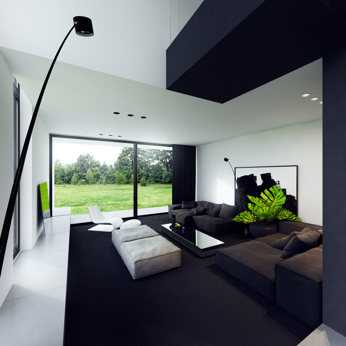 40 Gorgeously Minimalist Living Rooms That Find Substance in Simplicity images 13
