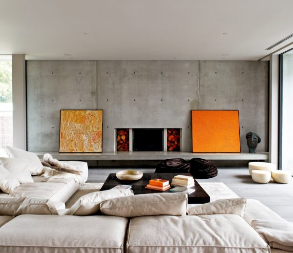 40 Stylish Living Rooms That Use Concrete To Stand Out Interior Design Ideas Howldb