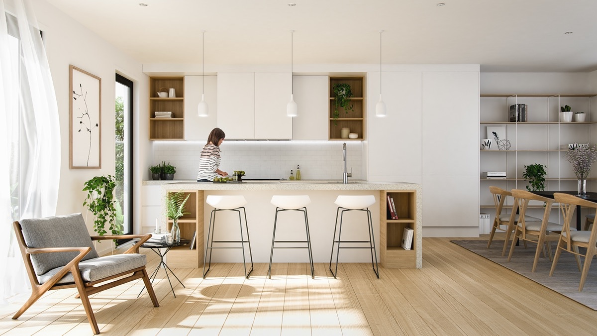 40 minimalist kitchens to get super sleek inspiration for Minimalist kitchen design