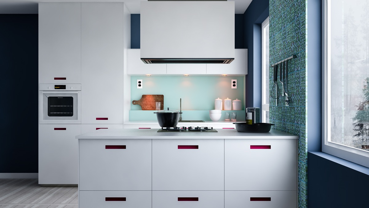 Wonderful 28 |; Visualizer: Marcin Kasperski. Some Small Minimalist Kitchens ...