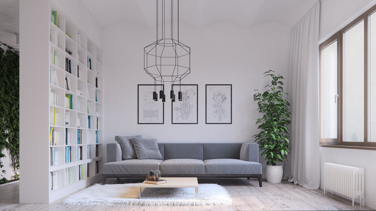 40 Gorgeously Minimalist Living Rooms That Find Substance in Simplicity images 19