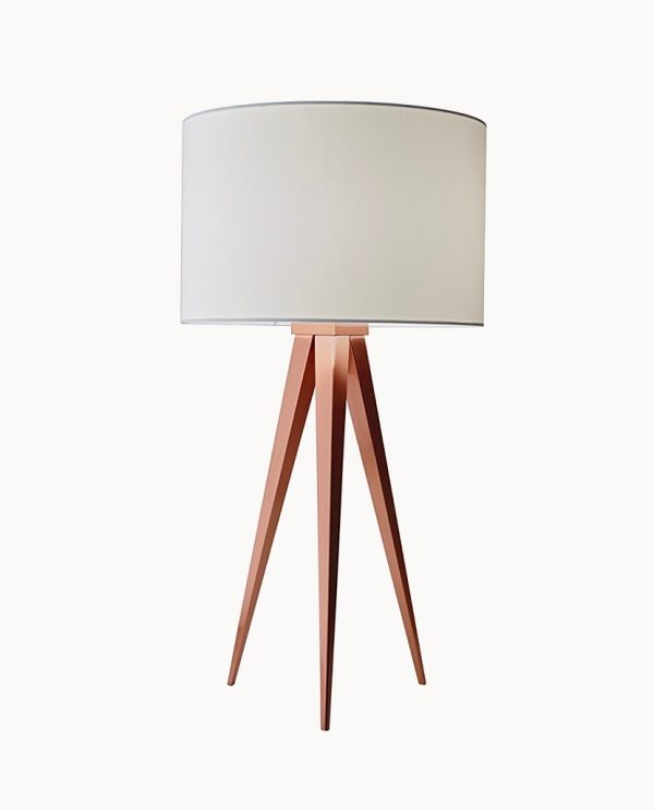 Stunning Contemporary Modern Copper Wire Table Bedside Light Lamp