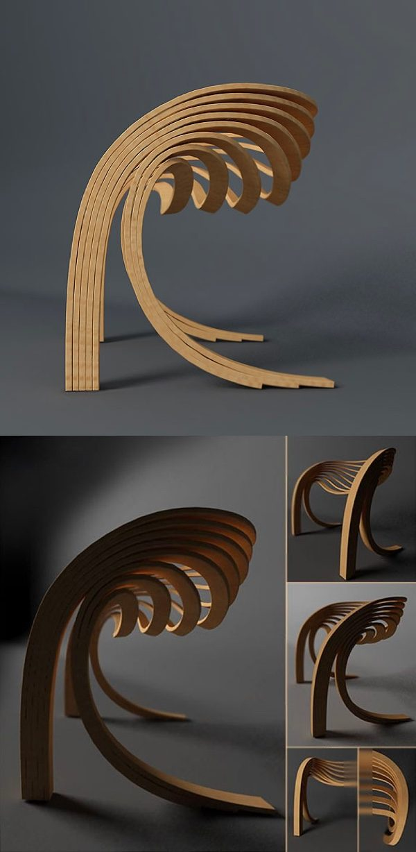 50 Stunning Sculptural Chairs That Act As Artistic