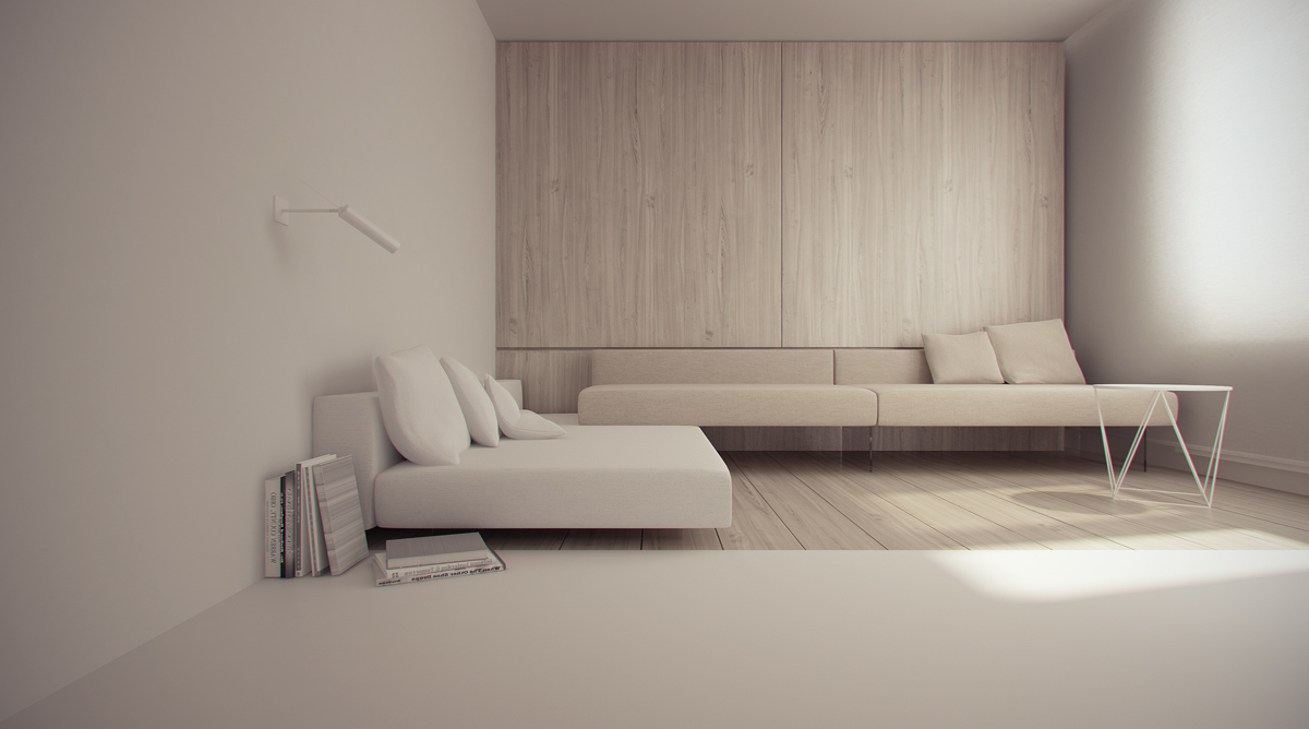 40 Gorgeously Minimalist Living Rooms That Find Substance in Simplicity images 4
