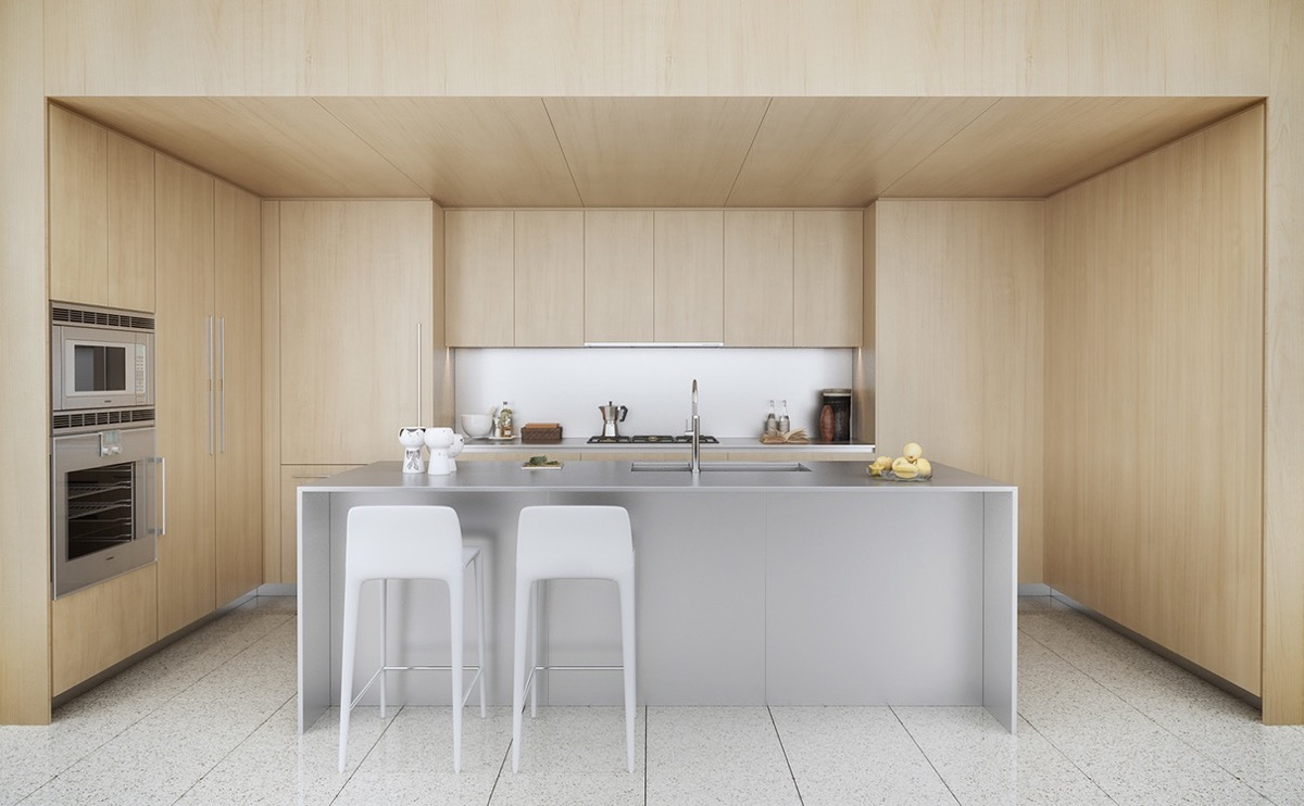 40 Minimalist Kitchens to Get Super Sleek Inspiration images 21