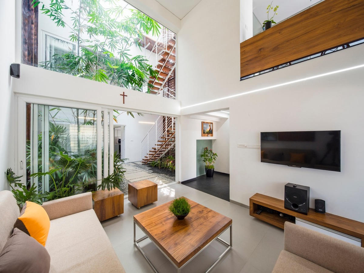 38 |; Architect: Lijo Reny. Like The Look Of This Minimalist Tropical Living  Room?