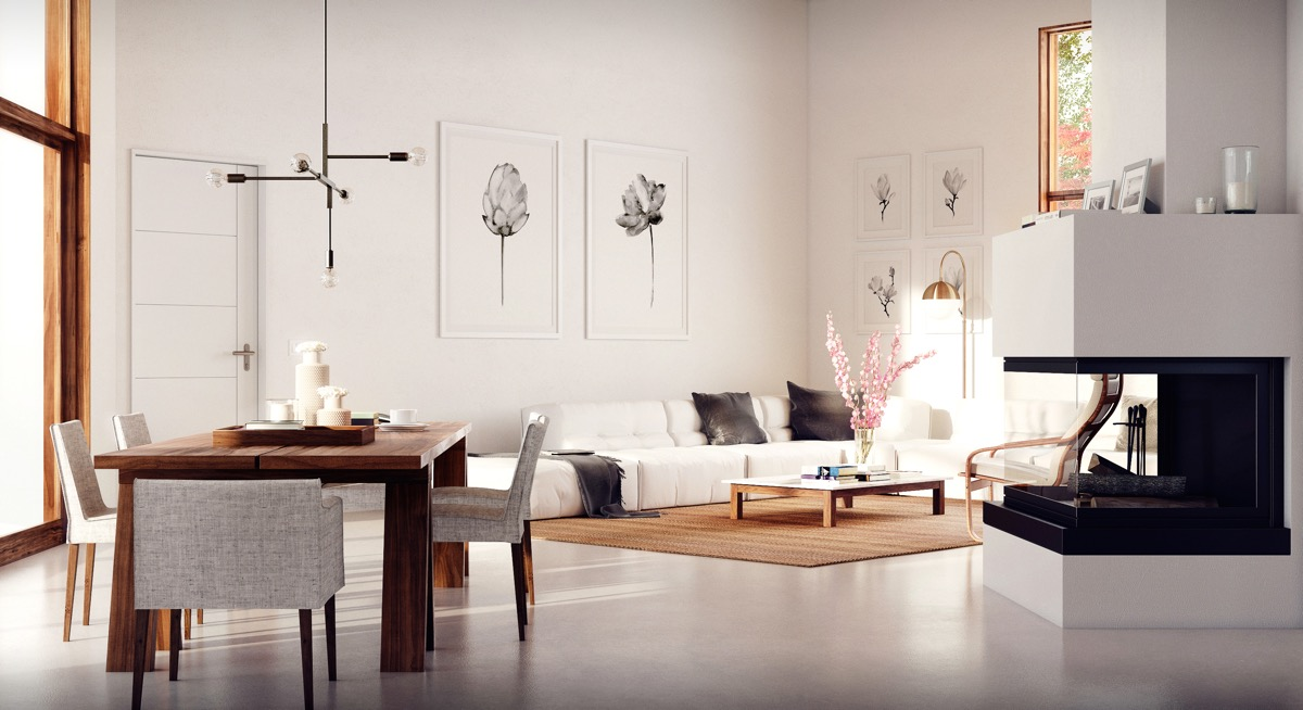 40 Gorgeously Minimalist Living Rooms That Find Substance in Simplicity images 34