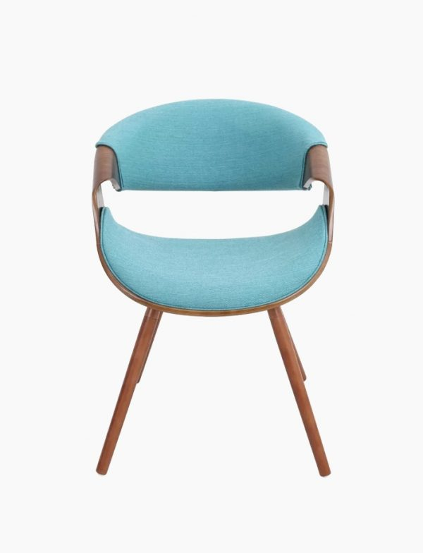 Wooden Arm Chairs In Teal ~ Beautiful modern accent chairs that add splendour to