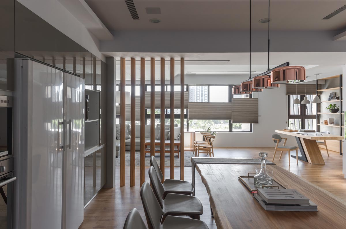 Open Plan Home Decor With Interesting Layers images 8