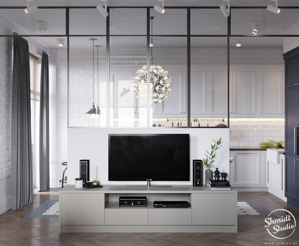 A Scandinavian Chic Style 3 Bedroom Apartment For A Young Family images 4