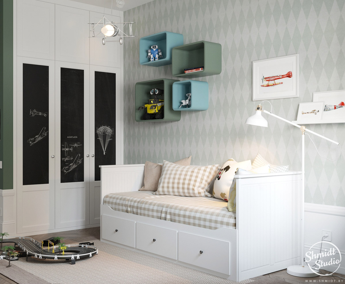 A Scandinavian Chic Style 3 Bedroom Apartment For A Young Family images 26
