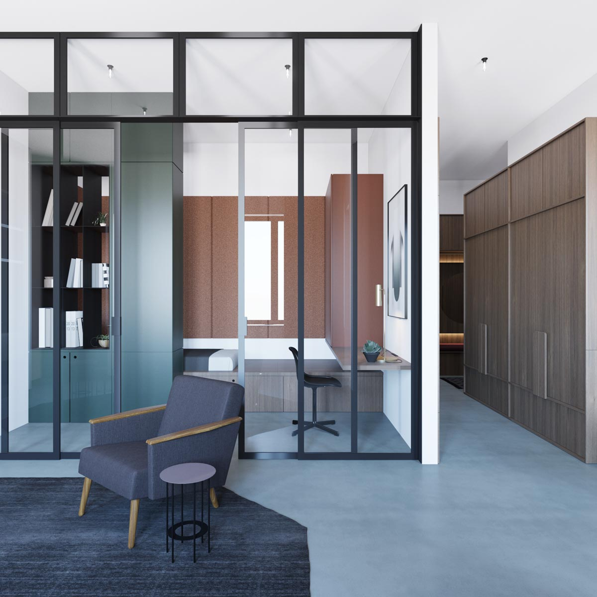 Chilled Out Modern Home in Muted Colour images 4