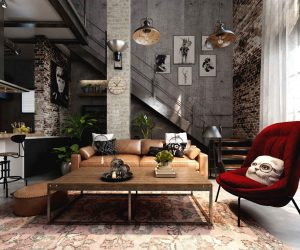Five Industrial Style Home ...