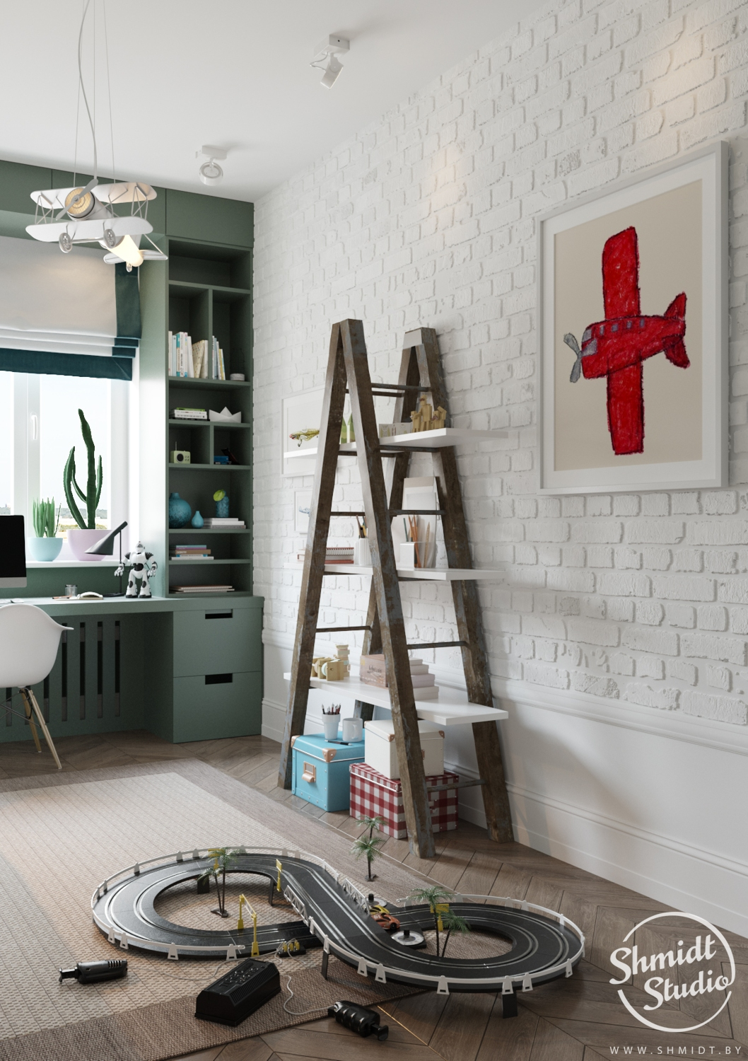 A Scandinavian Chic Style 3 Bedroom Apartment For A Young Family images 29