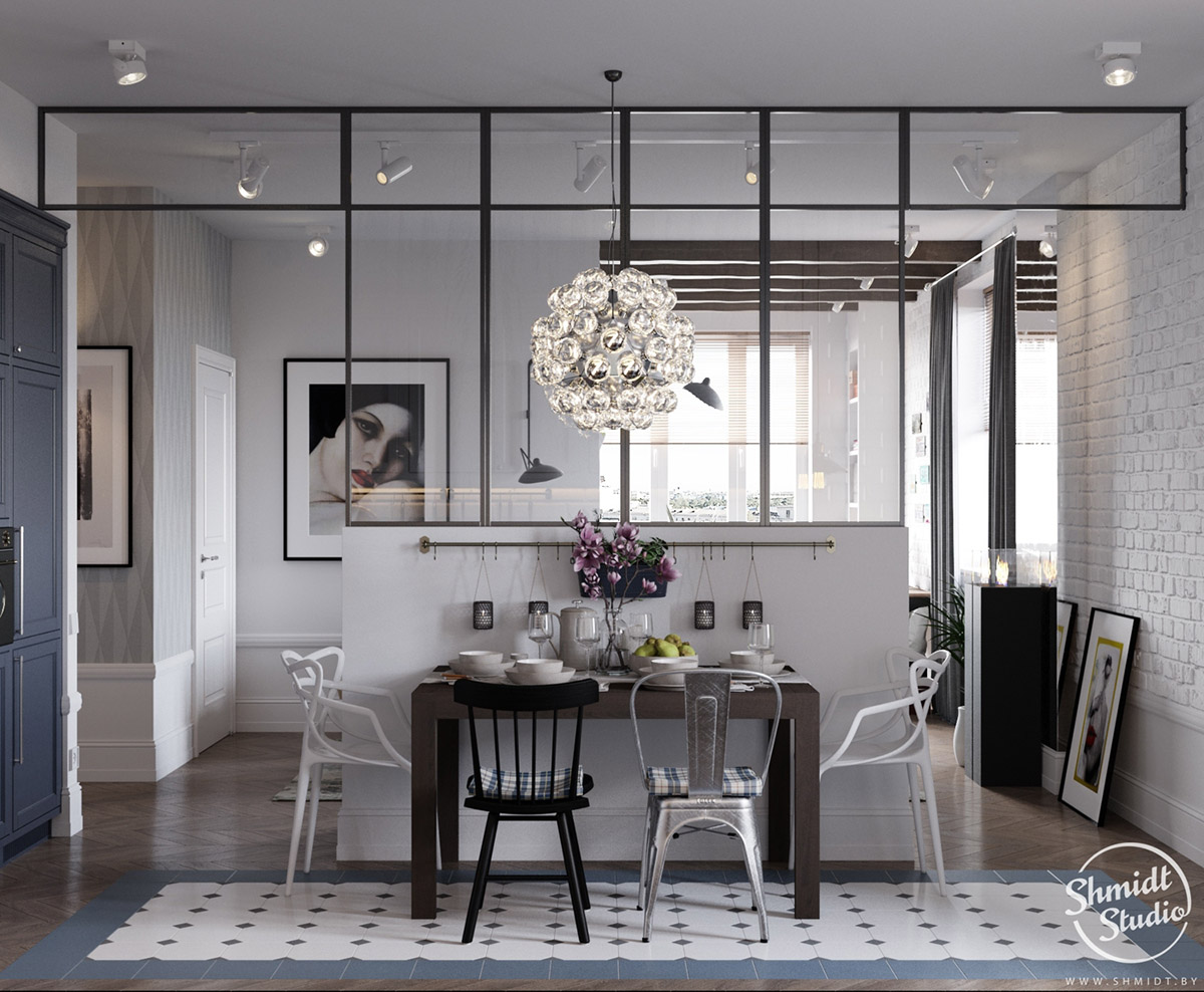 A Scandinavian Chic Style 3 Bedroom Apartment For A Young Family images 6