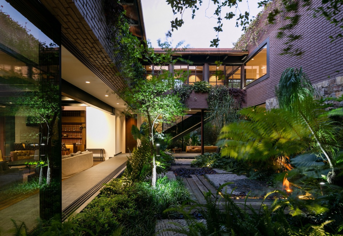 Modern Mexican Build With Tropical Gardens images 10
