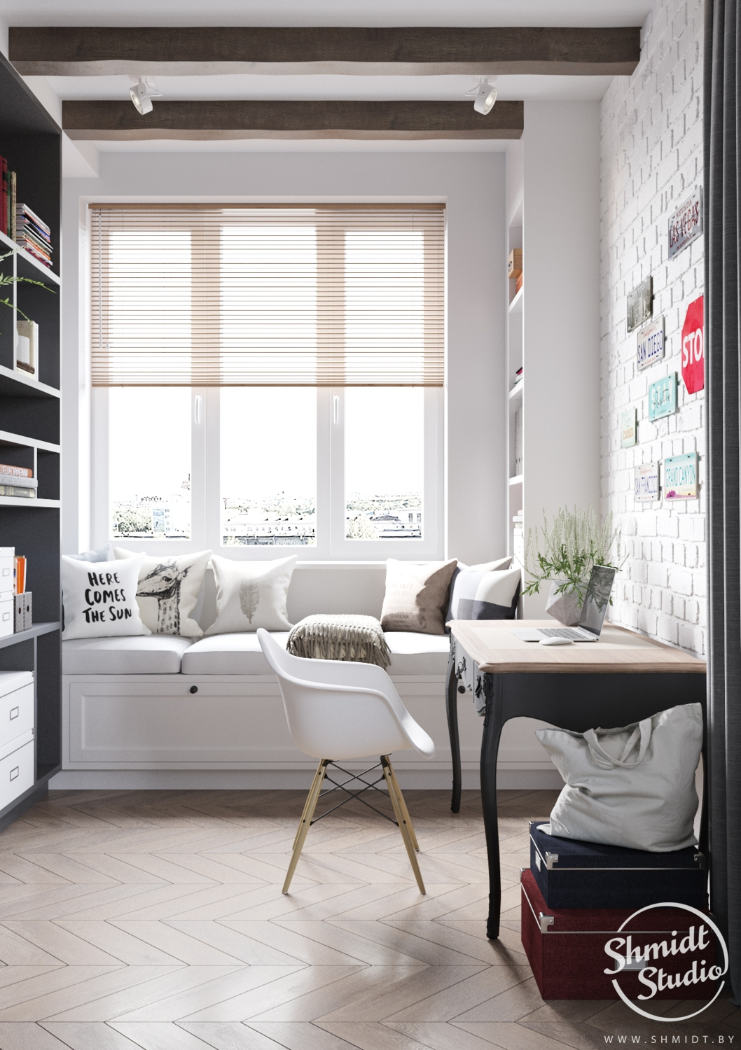 A Scandinavian Chic Style 3 Bedroom Apartment For A Young Family images 11
