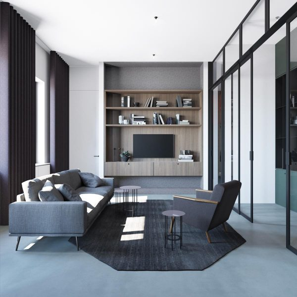 Chilled Out Modern Home in Muted Colour