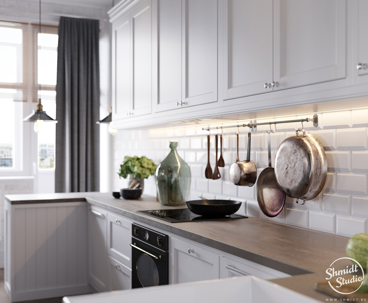 A Scandinavian Chic Style 3 Bedroom Apartment For A Young Family images 8