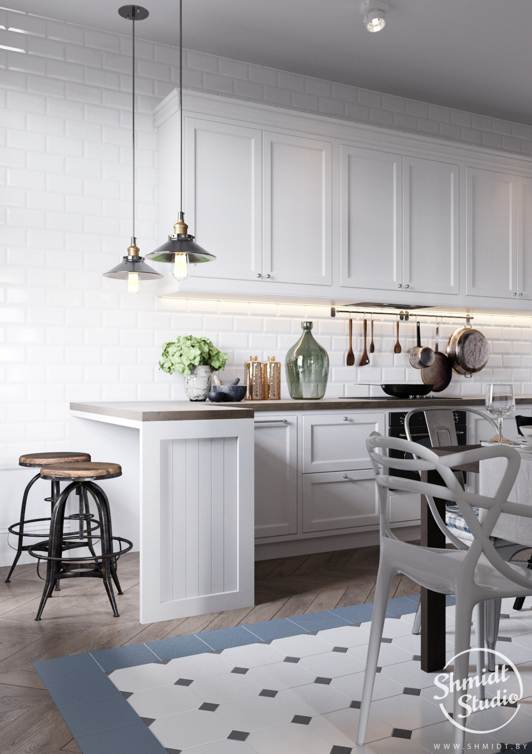 A Scandinavian Chic Style 3 Bedroom Apartment For A Young Family images 7