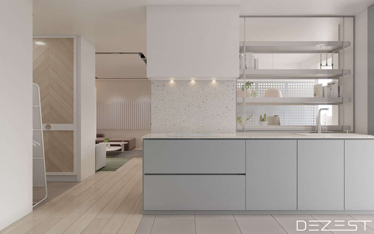 Three Apartments Using Pastel To Create Dreamy Interiors images 6