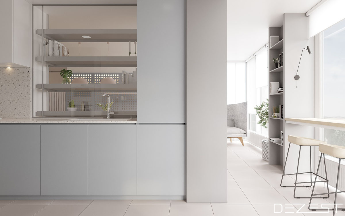 Three Apartments Using Pastel To Create Dreamy Interiors images 4